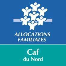 Logo de la CAF du Nord